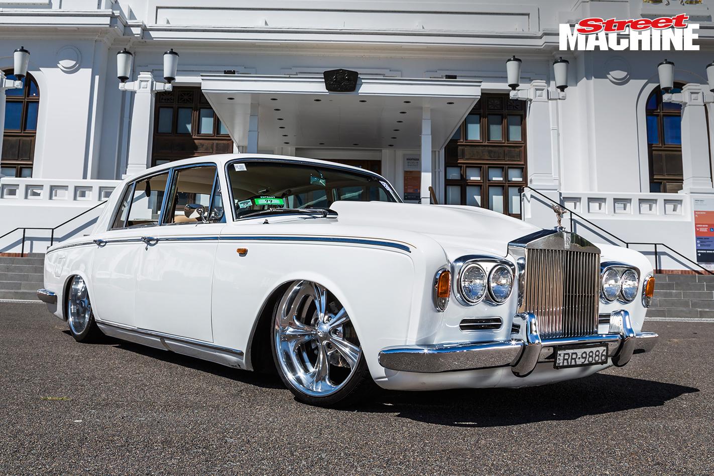 Slammed Rolls Royce