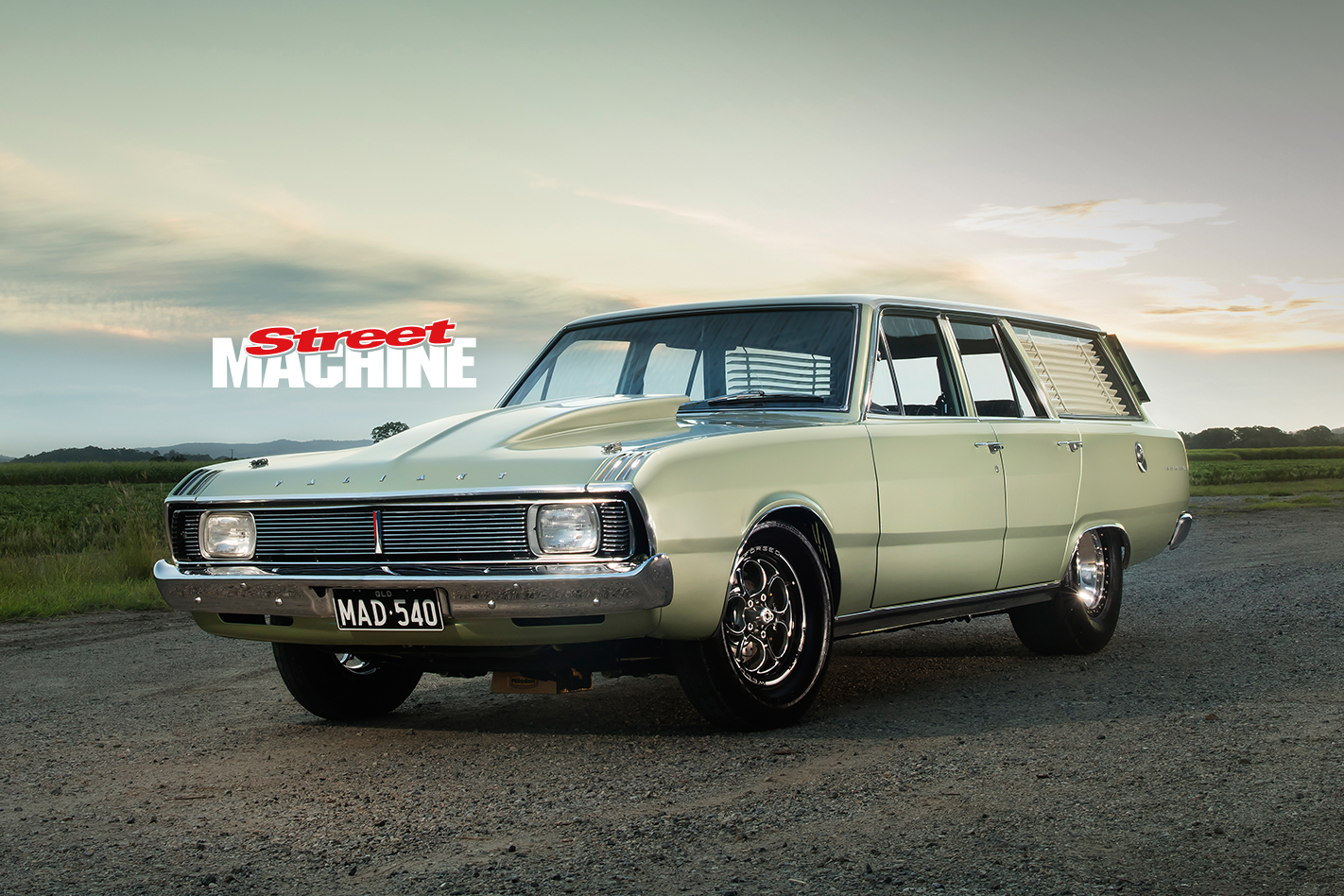 VG Valiant Wagon Big Block
