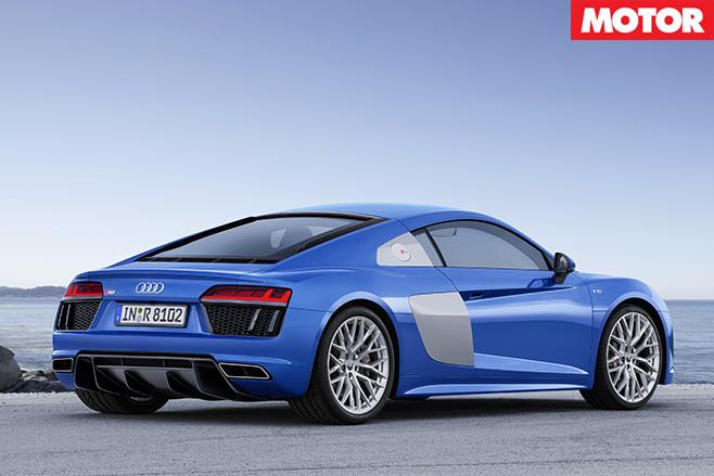 Audi R8 V10 rear still