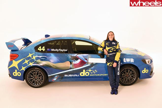 44-Molly -Taylor -Rally -Australia -driver