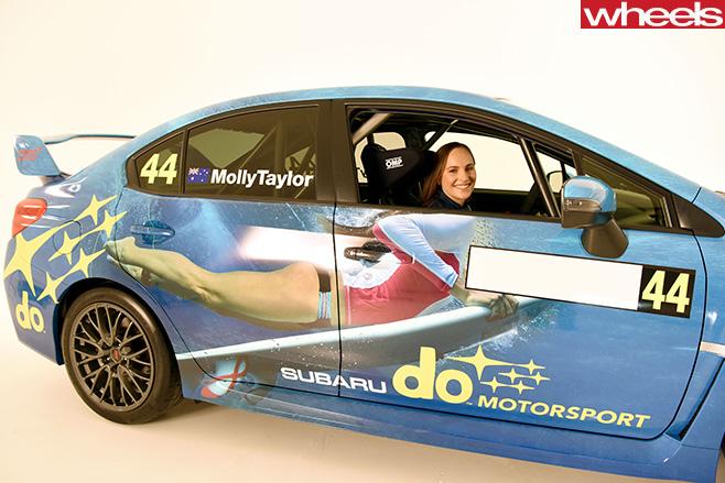 44-Molly -Taylor -Rally -Australia -driver -Subaru -WRX