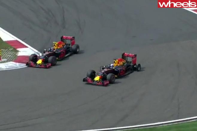 Ricciardo -crash