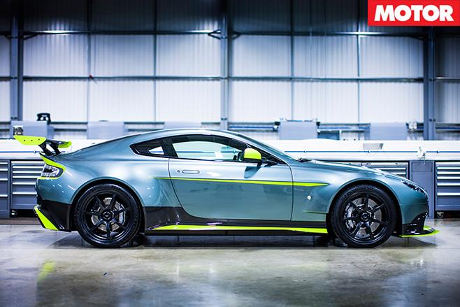 Aston Martin Vantage GT8 side