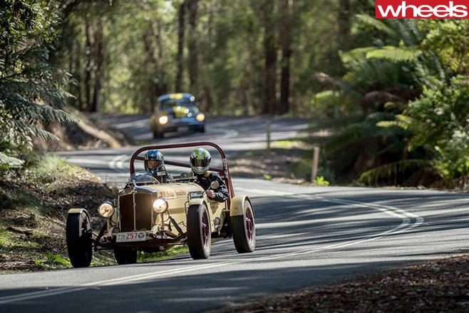 Targa -Tasmania -driving