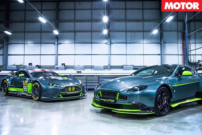Aston Martin Vantage GT8 & Vantage GTE car