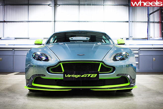 Aston -martin -vantage -gt 8-driving -front