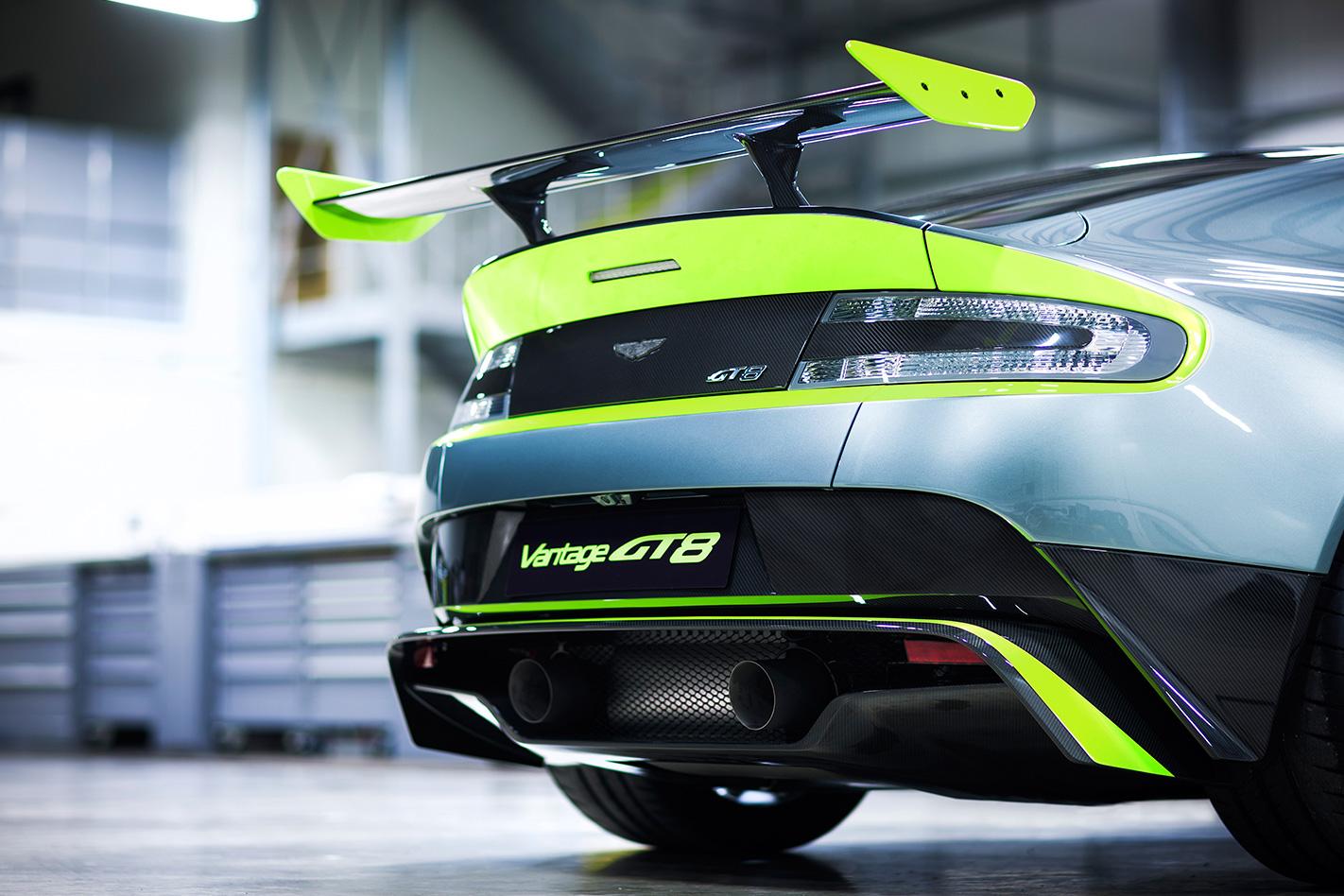 Aston -martin -vantage -gt 8-rear