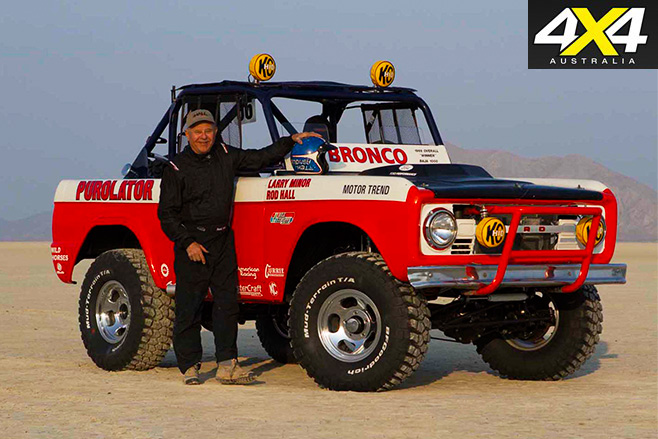 Rod Hall and ford bronco