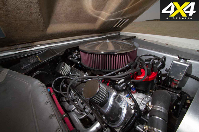 Rod hall bronco engine