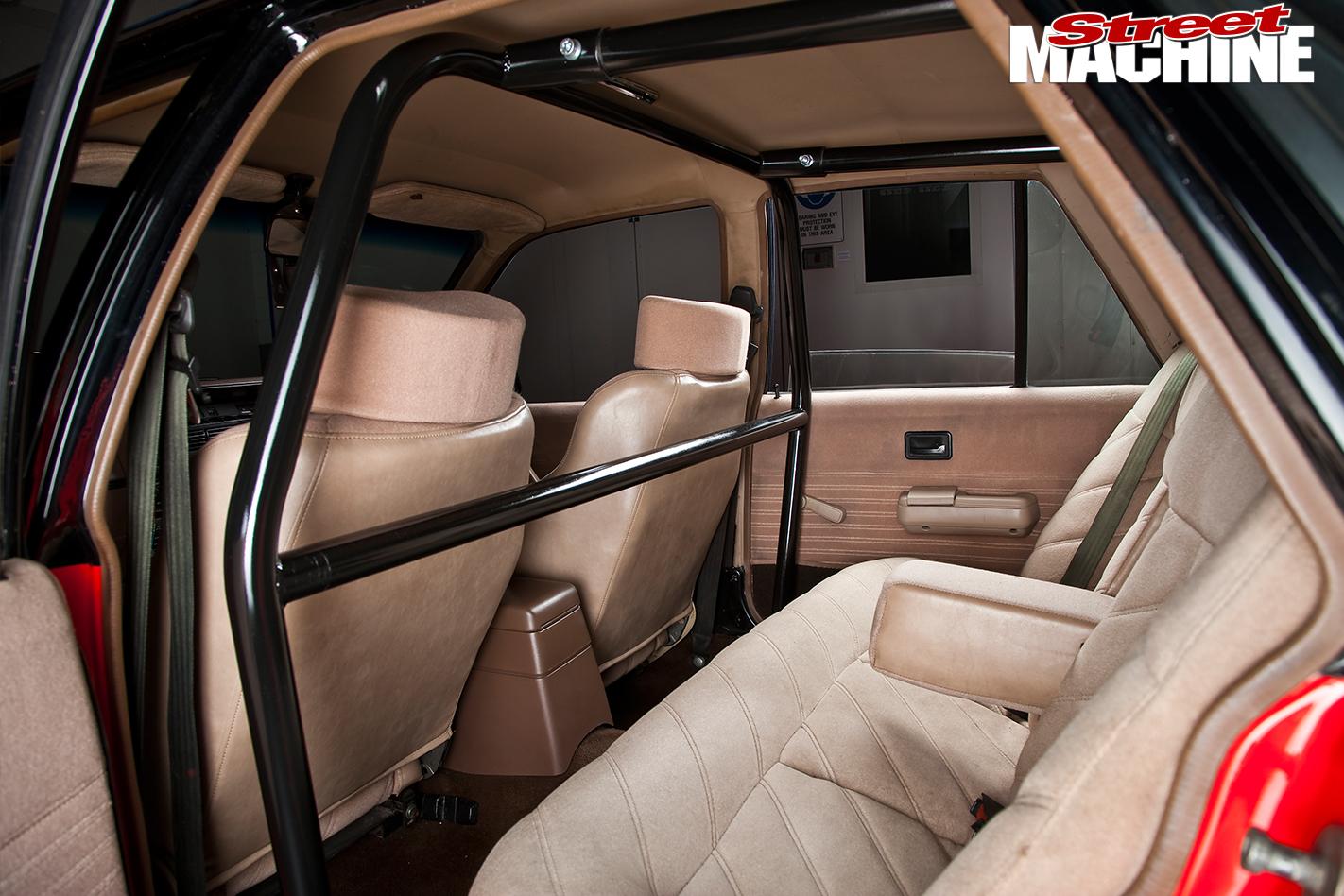Holden -VK-Commodore -interior -rear