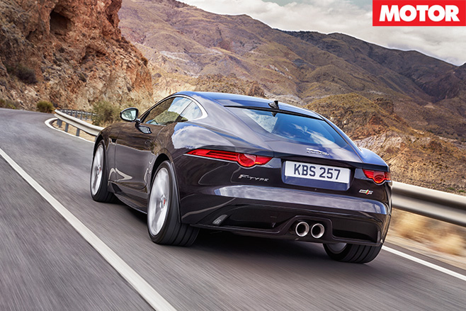Jaguar F-Type V6 S AWD rear