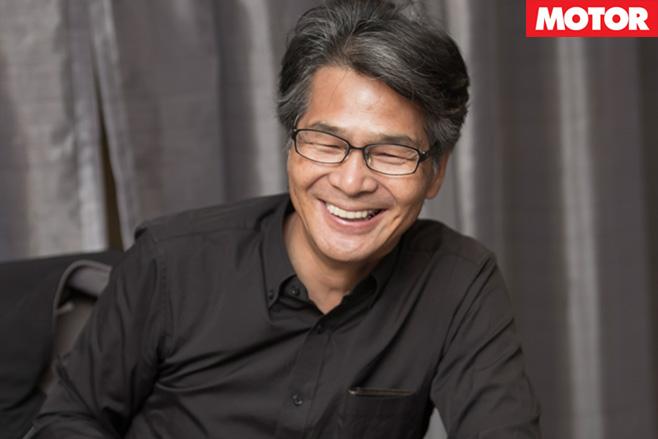 Yamamoto laughing