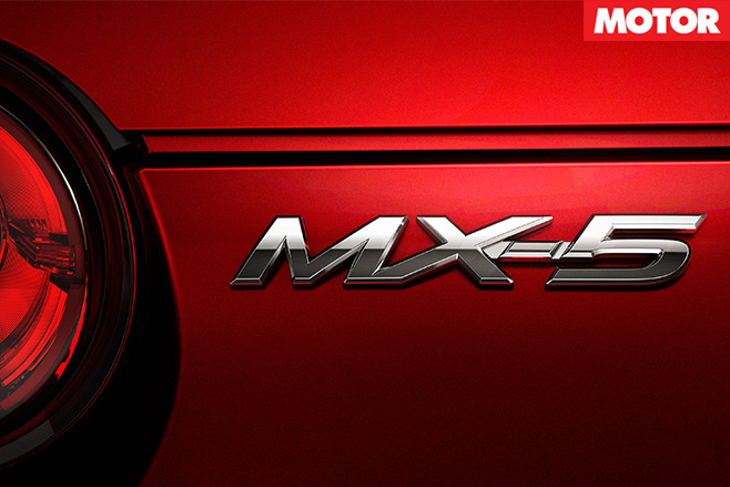 Mazda mx-5 badge