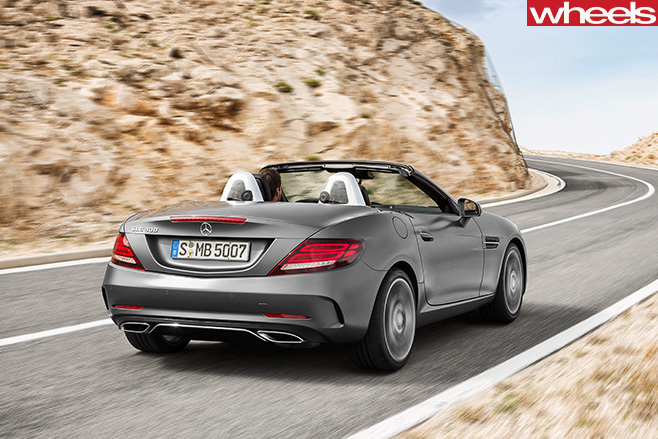 Mercedes -Benz -SLC-rear -side