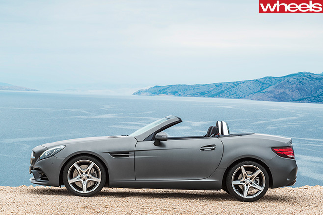 Mercedes -Benz -SLC-side