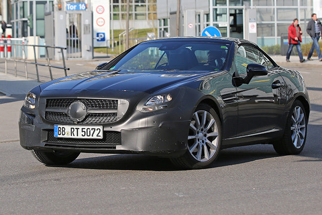 Mercedes -SLC-Facelift