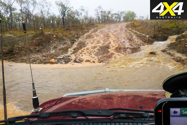Wet season hit