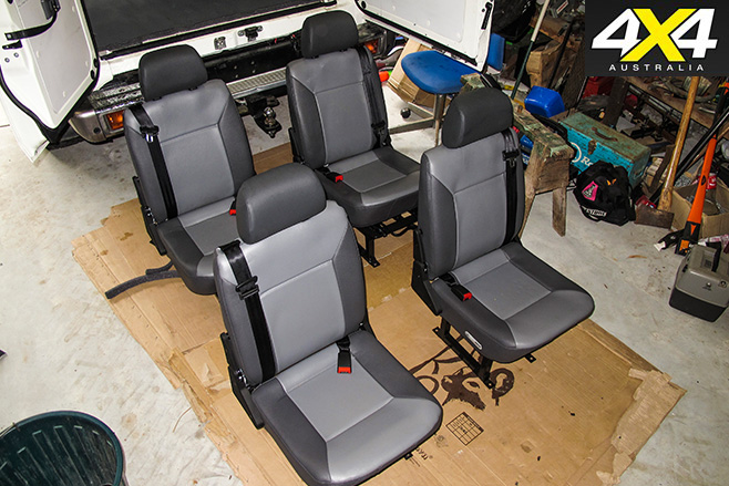 Techsafe seats