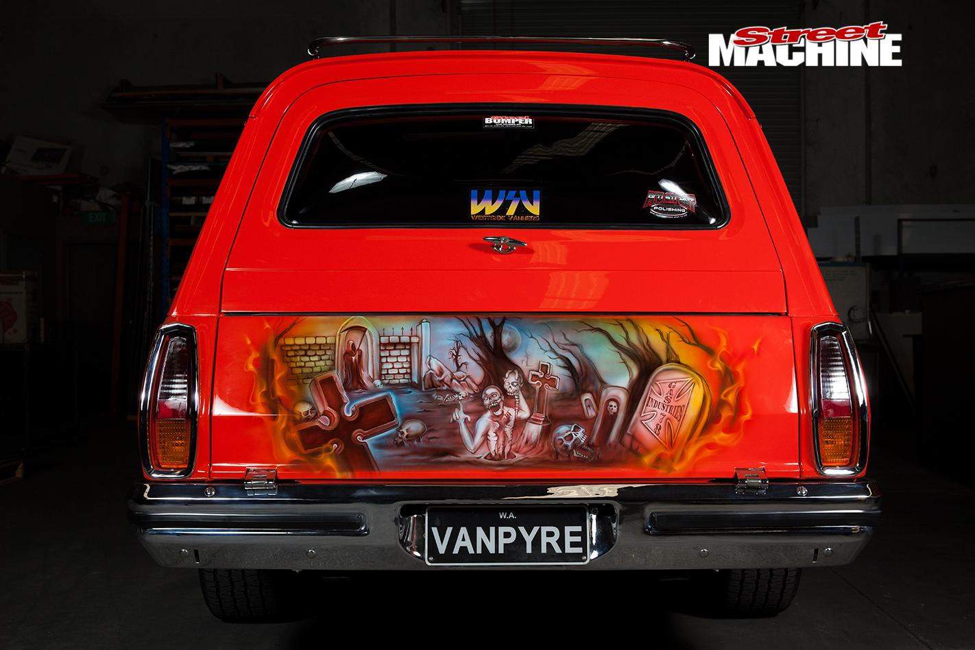 Holden -HJ-Sandman -murals -rear