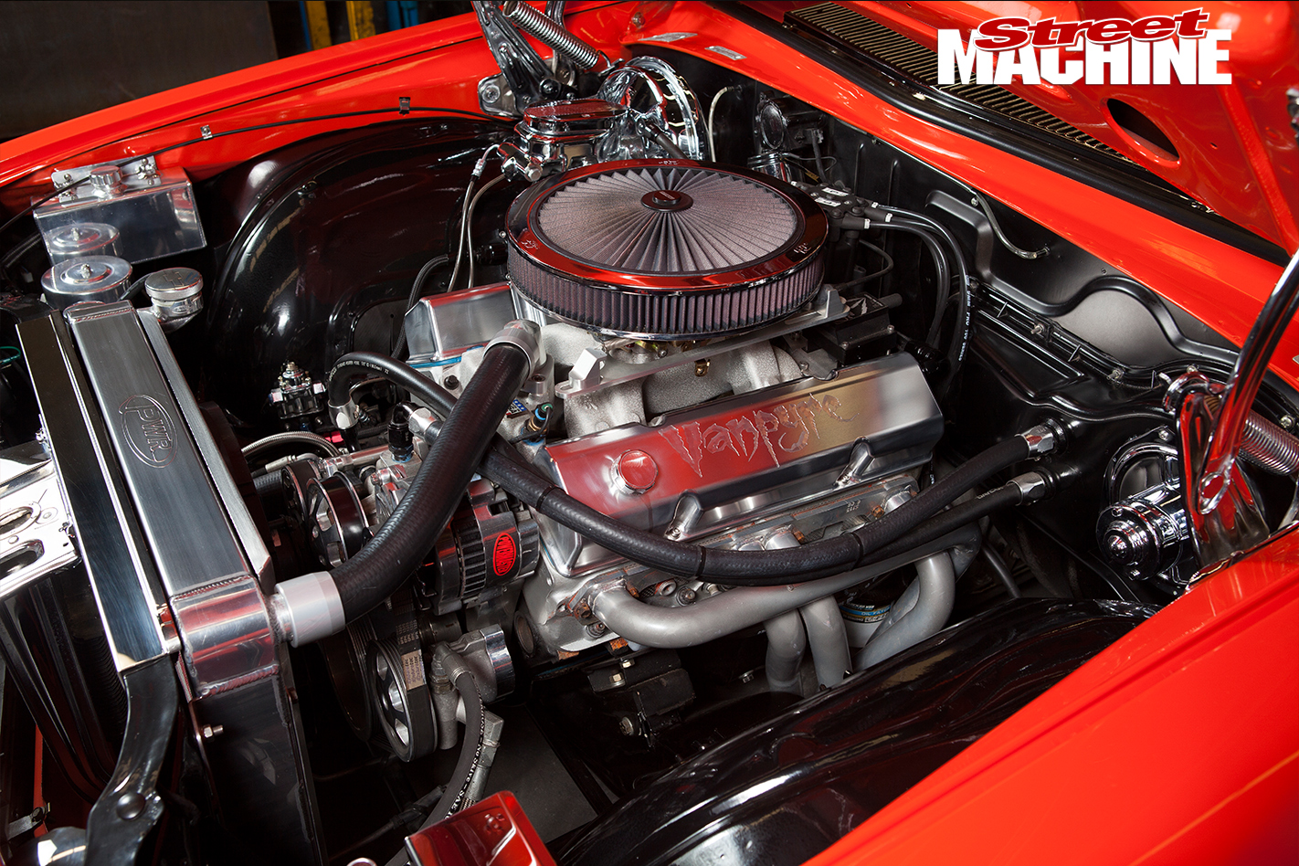 Holden -HJ-Sandman -engine -bay