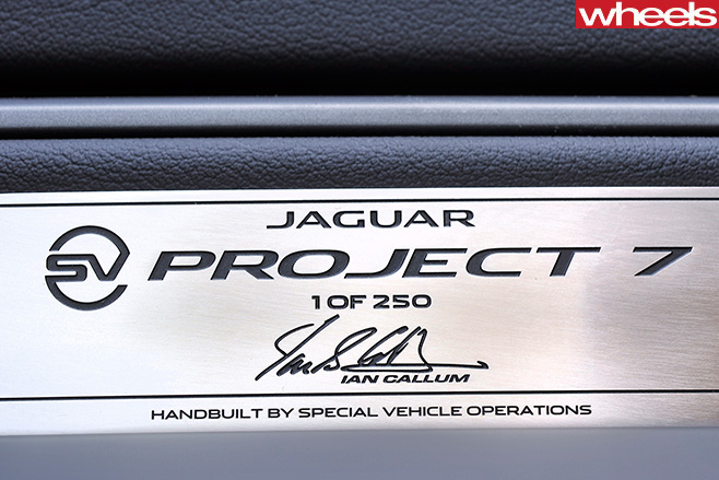 Jaguar -F-Type -Project -7-plaque