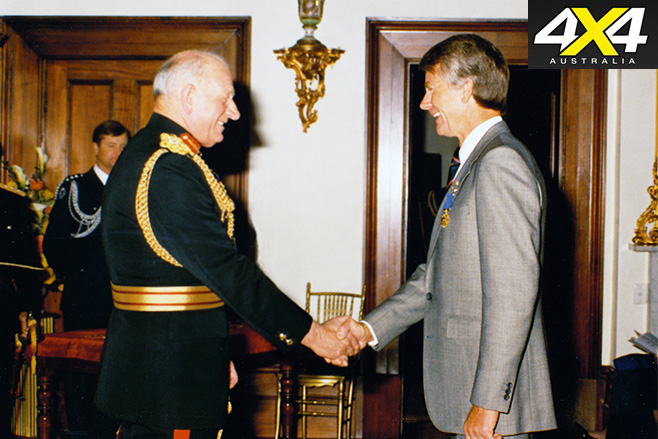 Receiving order of australia