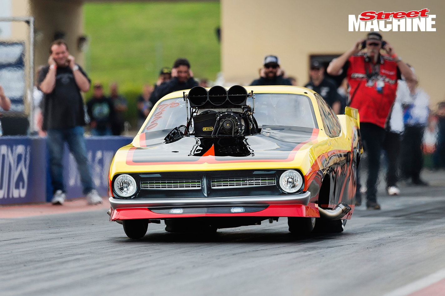 Blown Door Slammer Drag Car