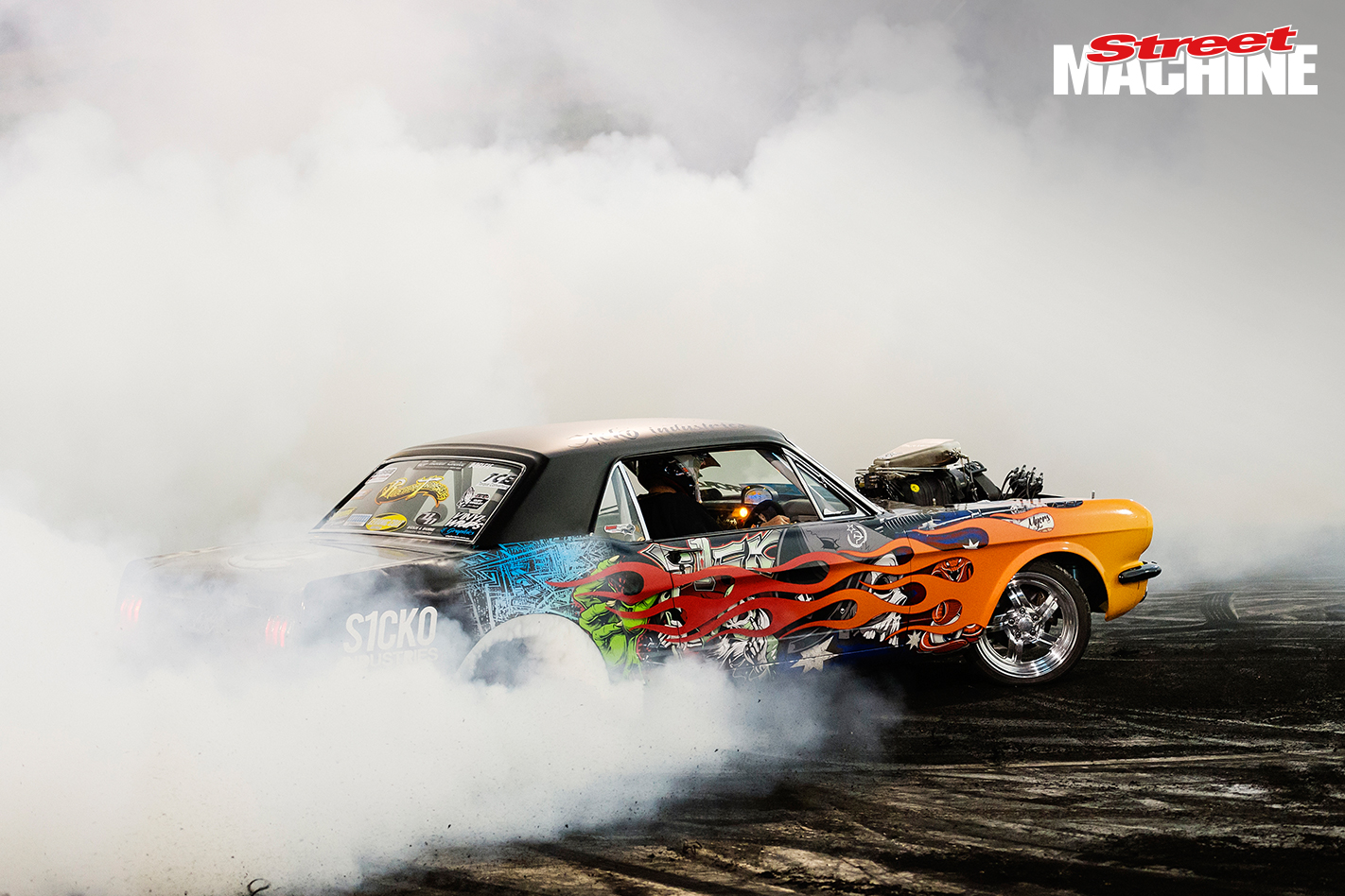 Mustang Burnout Supercharged SICKO