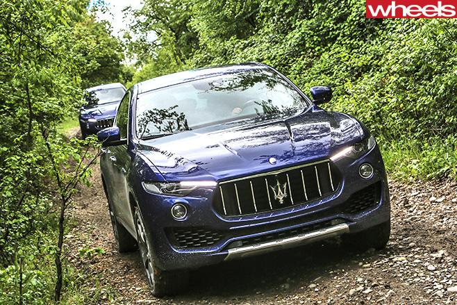 Maserati -Levante -driving -front-