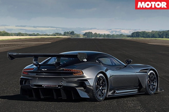 Aston Martin Vulcan made road legal rear
