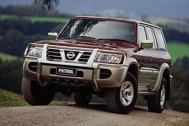Nissan -patrol -front