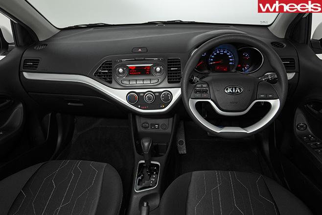 Kia -Picanto -interior