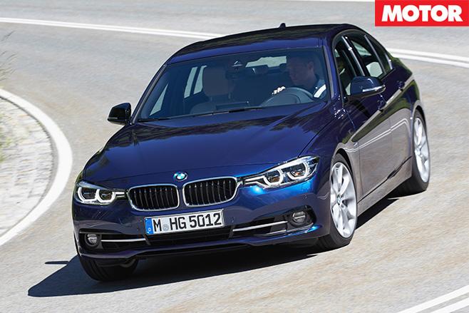 BMW 340i front