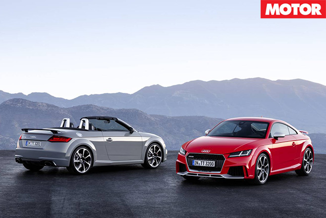 Audi TT RS models