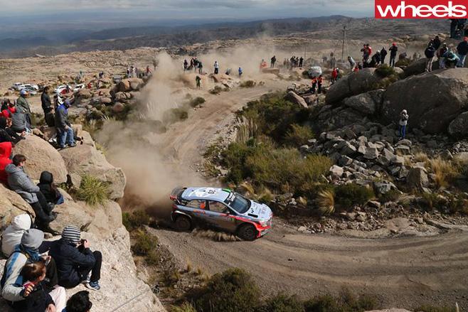 Hayden -Paddon -driving -WRC-Rally -Argentina