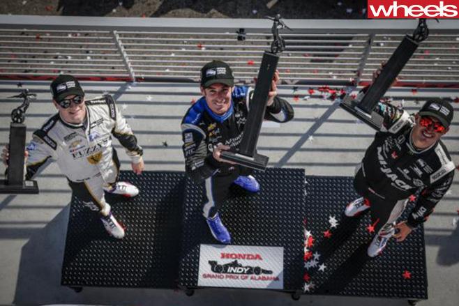 Indycar -podium -2016