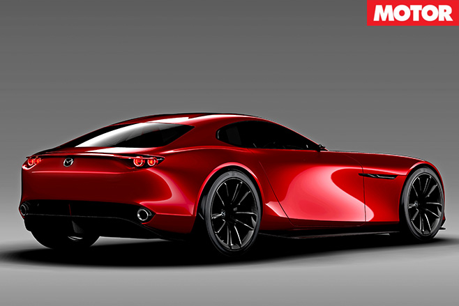 Mazda RX-Vision Concept rear