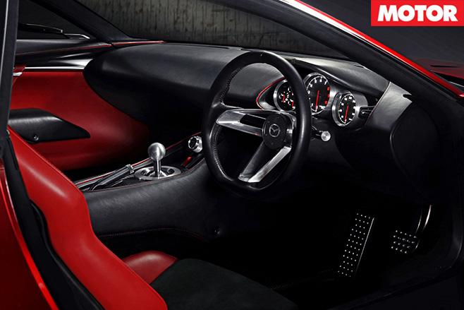 Mazda RX Vision Concept interior