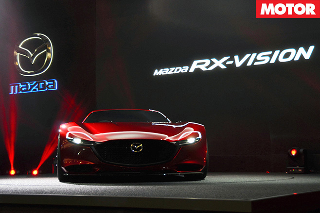 Mazda rx-vision front