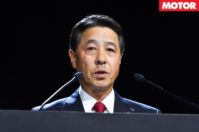 Company president Kogai