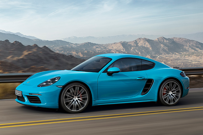 Porsche -Cayman -news