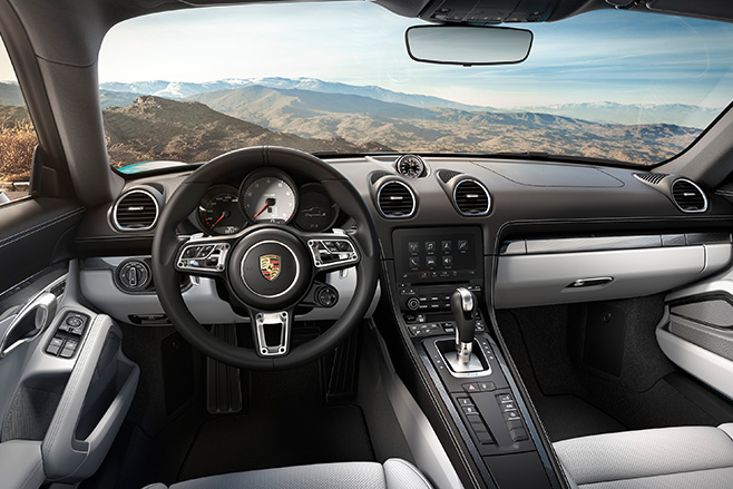 Porsche -Cayman -interior