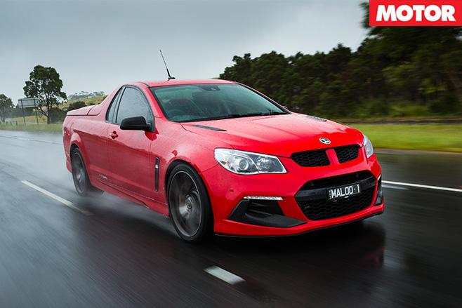 HSV Maloo R8 LSA driving