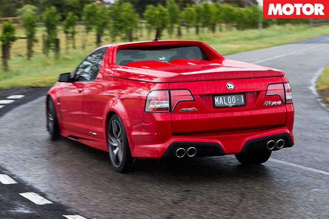 HSV Maloo R8 LSA rear