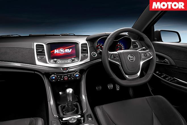 HSV Maloo R8 LSA interior