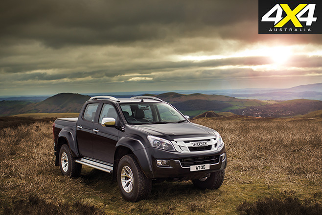 Isuzu D-Max AT35 front
