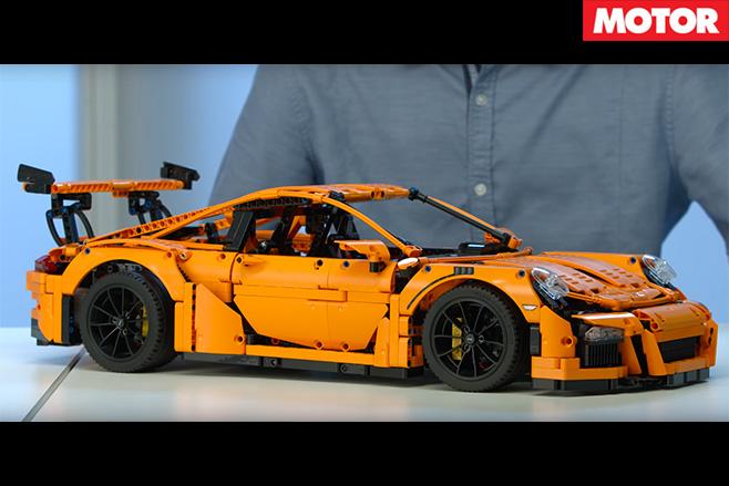 Lego Porsche 911 GT3RS