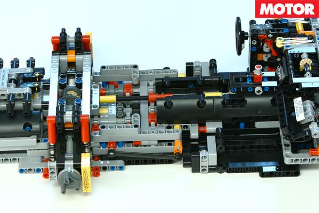 Lego porsche pieces