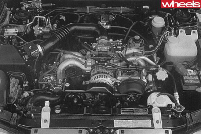 Subaru -Outback -engine
