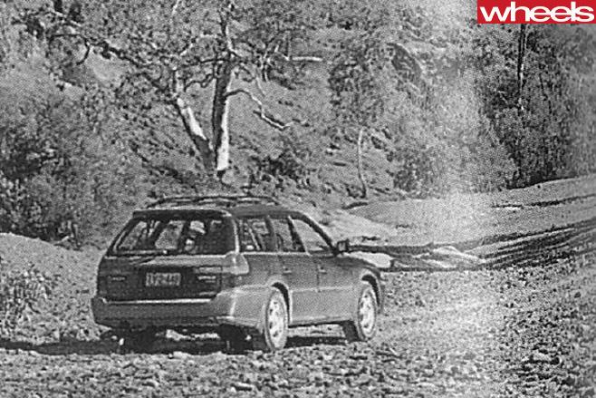 Subaru -Outback -rear -park